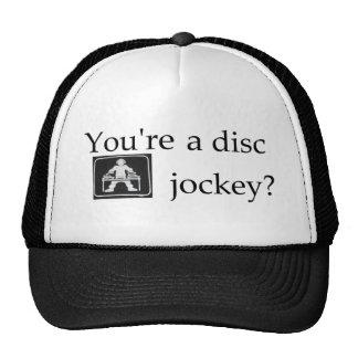 Gorra de la malla de DJ
