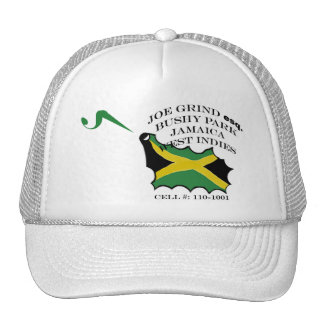Gorra de la malla de Jamaica de la rutina de Joe