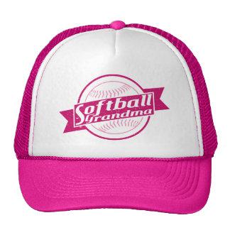 Gorra de la malla de la abuela del softball