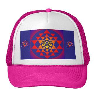 Gorra de la malla de Sri Yantra