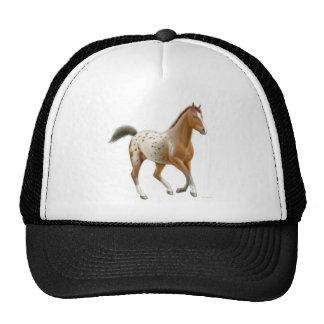 Gorra de la malla del caballo del Appaloosa