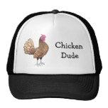 Gorra de la malla del tipo del pollo
