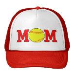Gorra de la mamá del softball