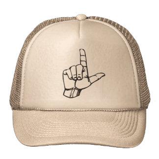 Gorra de la mano del perdedor