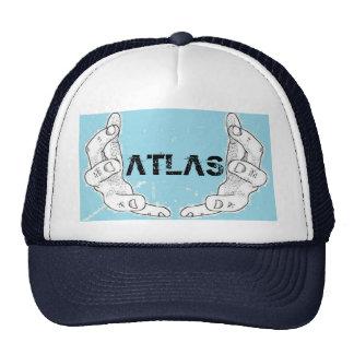 gorra de la marina de guerra del atlas.