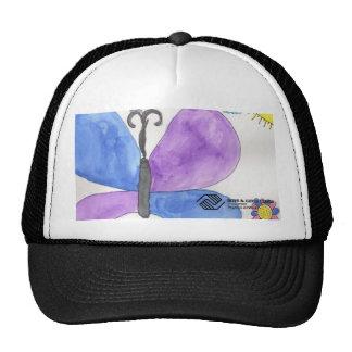 Gorra de la mariposa