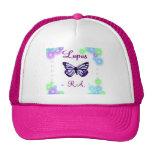Gorra de la mariposa del lupus
