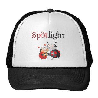 Gorra de la mariquita del proyector