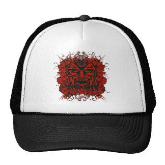 Gorra de la máscara de Tiki
