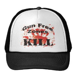 Gorra de la MATANZA de las zonas francas de arma p
