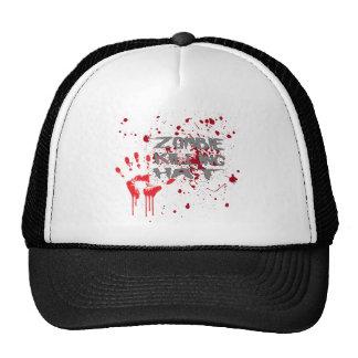 Gorra de la matanza del zombi