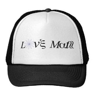 Gorra de la matemáticas del amor