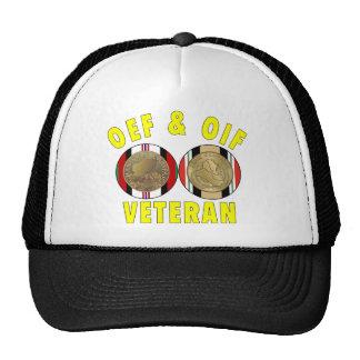 Gorra de la medalla de OEF y de OIF