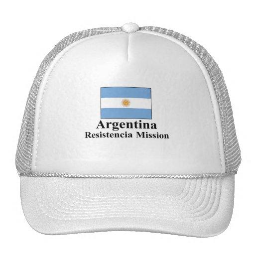 Gorra de la misión de la Argentina Resistencia