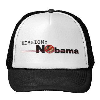 Gorra de la misión de Nobama