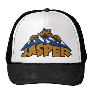 Gorra de la montaña del oso del jaspe