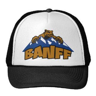 Gorra de la montaña del oso del parque nacional de