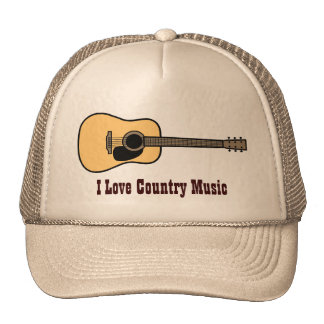 Gorra de la música country