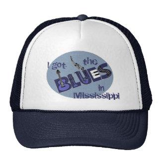 Gorra de la música de los azules