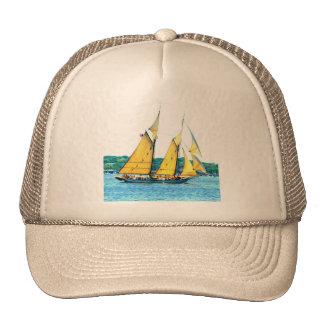 gorra de la navegación del schooner