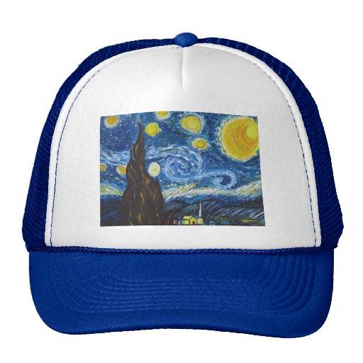 Gorra de la noche estrellada