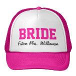 Gorra de la novia de las rosas fuertes