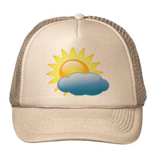 gorra de la nube y del sol
