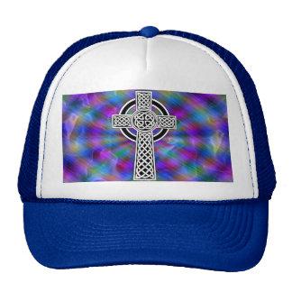 gorra de la onda de la cruz céltica