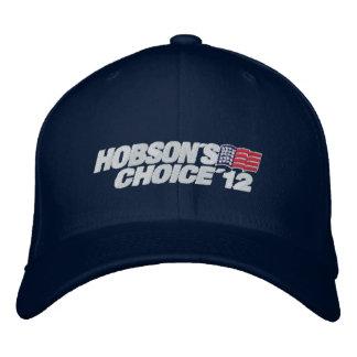 Gorra de la opción '12 de Hobson Gorra Bordada