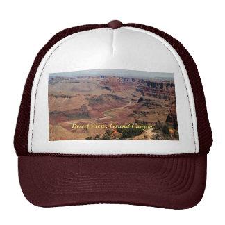 Gorra de la opinión del desierto del Gran Cañón