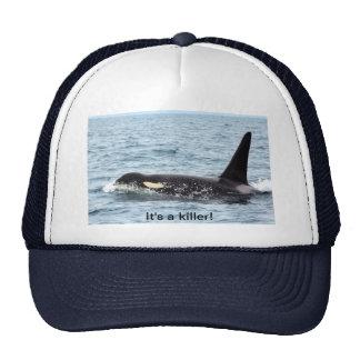 gorra de la orca de la orca - es un asesino