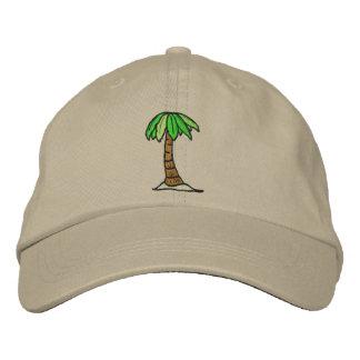 Gorra de la palmera gorras de béisbol bordadas