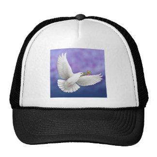 Gorra de la paloma de la paz