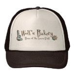 Gorra de la panadería del lobo