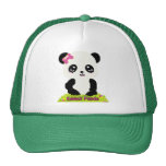 Gorra de la panda de Kawaii