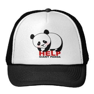 Gorra de la panda gigante de la ayuda