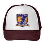 Gorra de la patrulla del texto de New Jersey por e