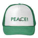 gorra de la paz