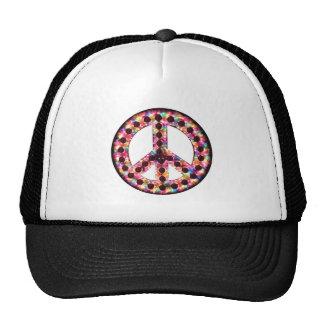 gorra de la paz de 5 colores