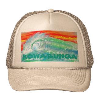 Gorra de la persona que practica surf de KOWABUNGA