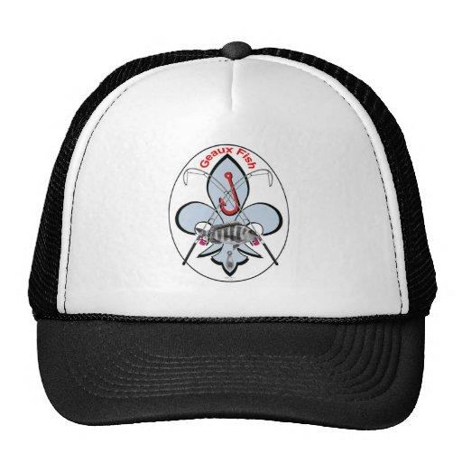 Gorra de la pesca de la flor de lis