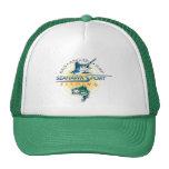 Gorra de la pesca de SeaHawk con el logotipo