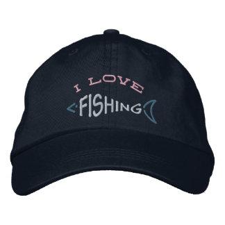 Gorra de la pesca gorra de beisbol bordada