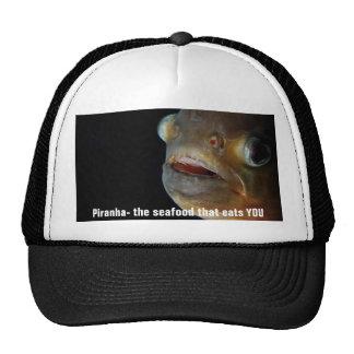 Gorra de la piraña