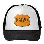 Gorra de la policía del caramelo