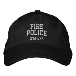 gorra de la policía del fuego gorra de béisbol