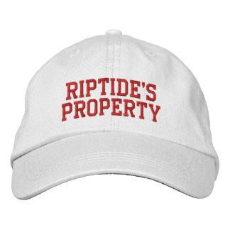 Gorra de la propiedad de la corriente de resaca gorra de béisbol bordada