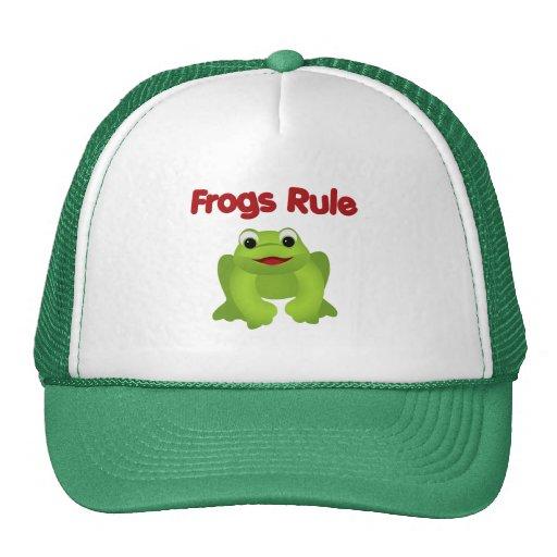 Gorra de la rana