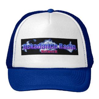 Gorra de la red de la Dekadance-Radio - azul