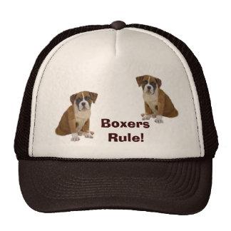 Gorra de la regla de los boxeadores